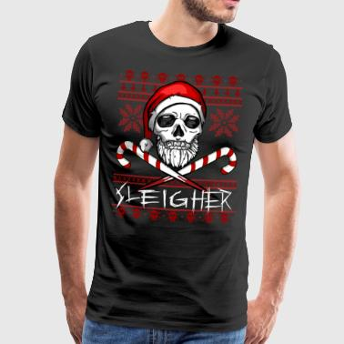 Sleigher Ugly Christmas Sweater - T-shirt Premium Homme