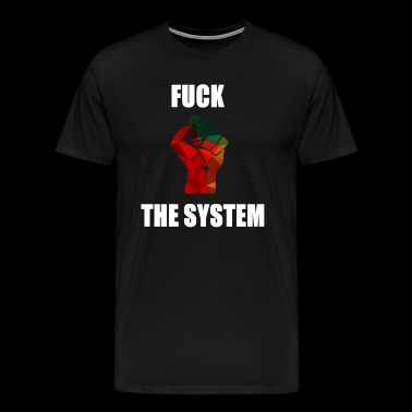 Revolution System Links Gift Anarkism - Premium-T-shirt herr