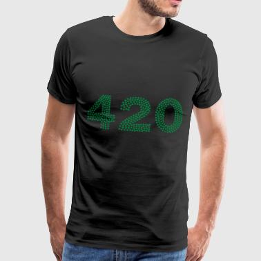 420 unhealthy. - Men's Premium T-Shirt