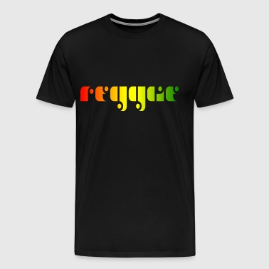 Reggae music - Men's Premium T-Shirt