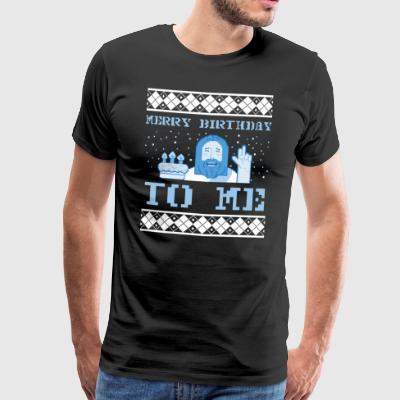 Ugly Christmas Sweater Jesus - Männer Premium T-Shirt