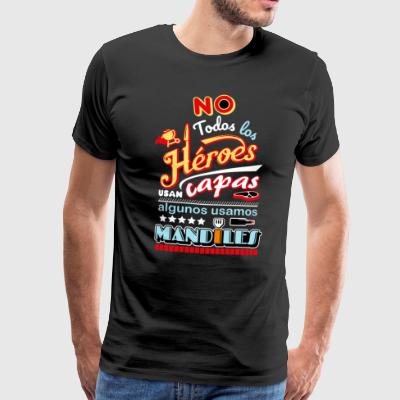 Heroes with aprons - Men's Premium T-Shirt