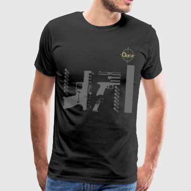 QUICK ARMS LOGO 6 - Men's Premium T-Shirt
