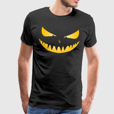 Wicked Pumpkin Halloween Costume - Men's Premium T-Shirt