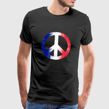 Peace Frieden Make love not war - Männer Premium T-Shirt
