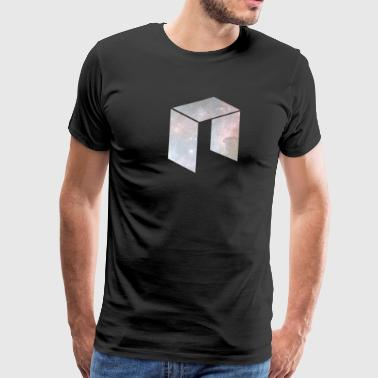 NEO cryptocurrency logo - Men's Premium T-Shirt