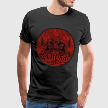 Samurai. Warrior - Men's Premium T-Shirt