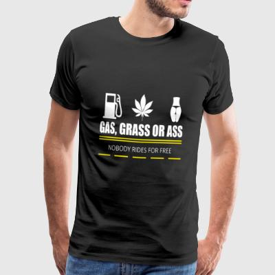 Gas, grass or ass - pickup - Men's Premium T-Shirt
