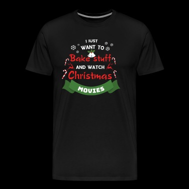 Bake movie baking movies Christmas gift poison - Men's Premium T-Shirt