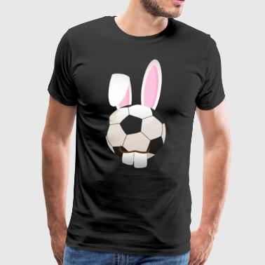 Soccer Footballer Happy Easter Gift - Men's Premium T-Shirt