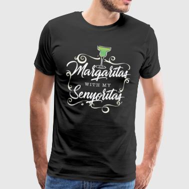 Margaritas Mexican Tequila Mexicaanse alcohol - Mannen Premium T-shirt