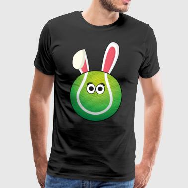 I love Tennis Tennis Ball Easter Gift - Men's Premium T-Shirt