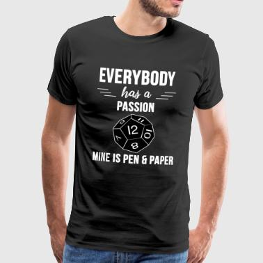 Pen and paper - Männer Premium T-Shirt
