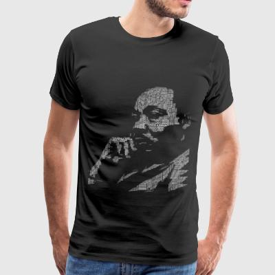 MArtin luther King Jag har en dröm Black power anti - Premium-T-shirt herr
