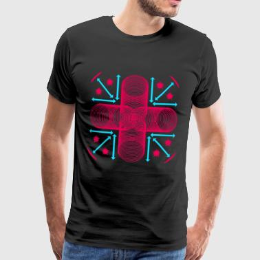 Symbols, shapes, creative - Men's Premium T-Shirt