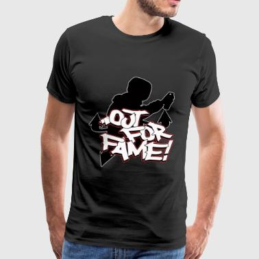 Out For Fame Old School Graffiti T-Shirt - Herre premium T-shirt