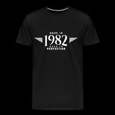 MADE IN 1982 (gåva) - Premium-T-shirt herr