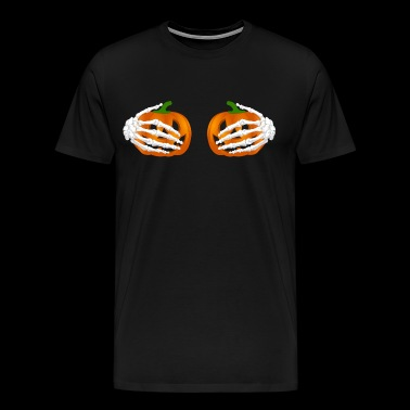 pumpkin chest - Men's Premium T-Shirt