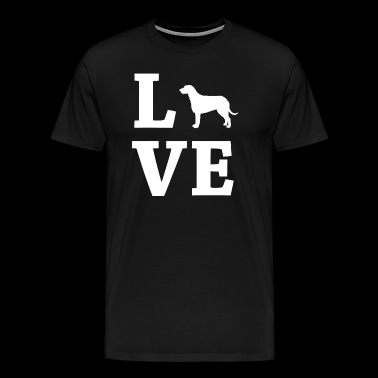 LOVE Irish Wolfhound Irish Wolfhound - Men's Premium T-Shirt