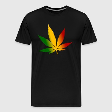 Reggae Cannabis - Men's Premium T-Shirt