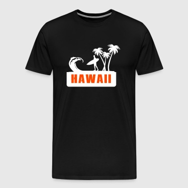 Hawaii - Herre premium T-shirt