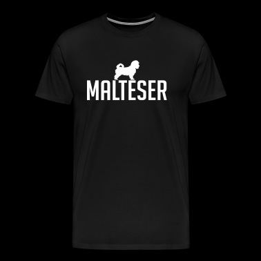 Maltese - Men's Premium T-Shirt