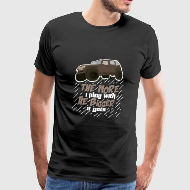 Funny Jeep Sayings Funny Offroad Gave - Herre premium T-shirt