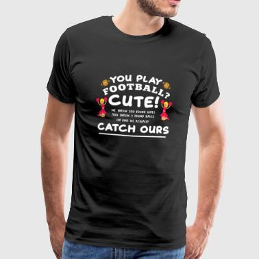 Cheerleading ordtak cheerleader sayings gave - Premium T-skjorte for menn