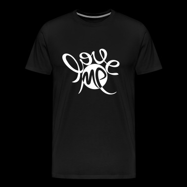 Love me, valentines day, marriage, birthday, carnival - Men's Premium T-Shirt