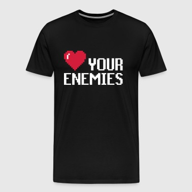 Love Enemies - Männer Premium T-Shirt