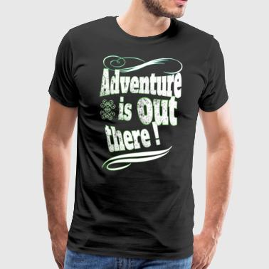 Adventure - Herre premium T-shirt