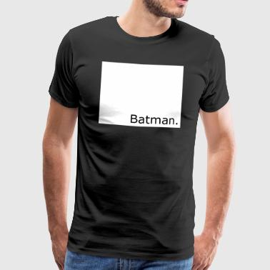 bat man - Men's Premium T-Shirt