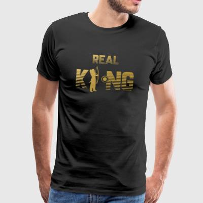 Real King - Archery Bow Arrow Bow - Men's Premium T-Shirt