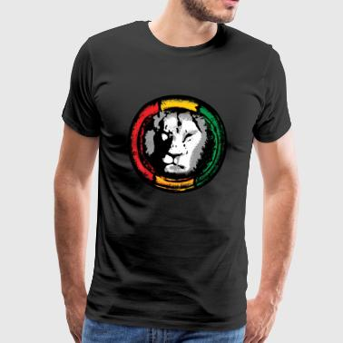 Reggae lion - Men's Premium T-Shirt