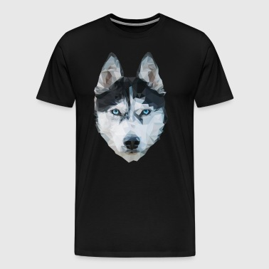 The Husky - Men's Premium T-Shirt