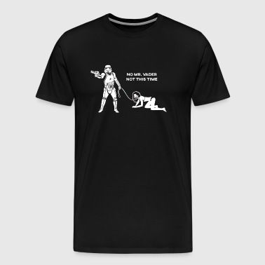Stormtrooper with booty - Men's Premium T-Shirt
