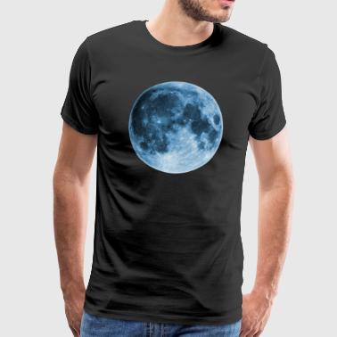 Full Moon, magic, fantasy, night, wicca, space - Men's Premium T-Shirt