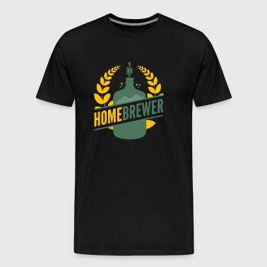 Home brewing - Men's Premium T-Shirt