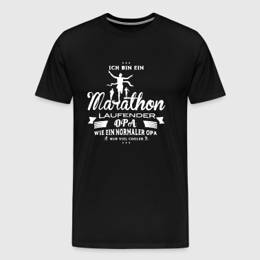 Marathon Shirt-Cool Grandpa - Men's Premium T-Shirt