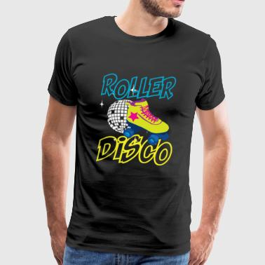 Jag älskar 80-talet Disco Music Girl Party Gift - Premium-T-shirt herr
