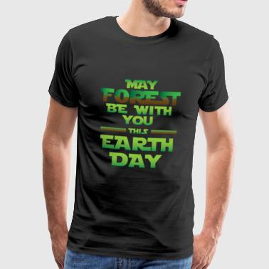 Earth Day / Earth Day Safe Trees Gift - Herre premium T-shirt