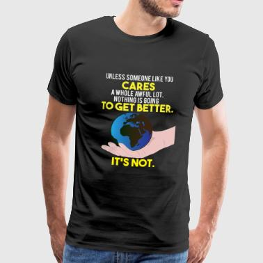 Earth Day / Earth Day Safe Trees Gift - Premium-T-shirt herr