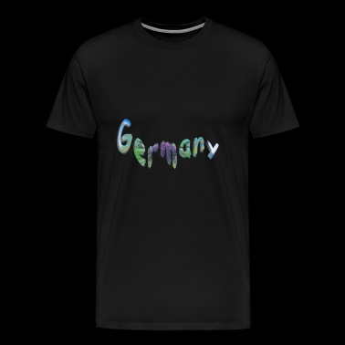 Germany3 - Premium-T-shirt herr
