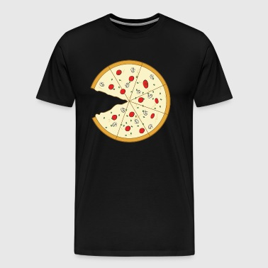 Pizza Couple (Part1) - Mannen Premium T-shirt