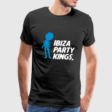 Ibiza partiet Kings - Premium T-skjorte for menn