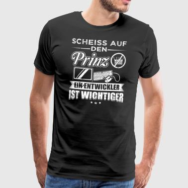 Developer SCHEISS PRINZ developer - Men's Premium T-Shirt