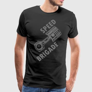 Speed brigade - Premium-T-shirt herr