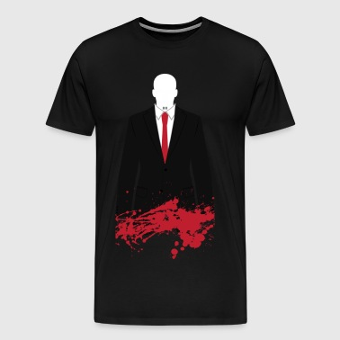 The Hitman - Stained - Men's Premium T-Shirt