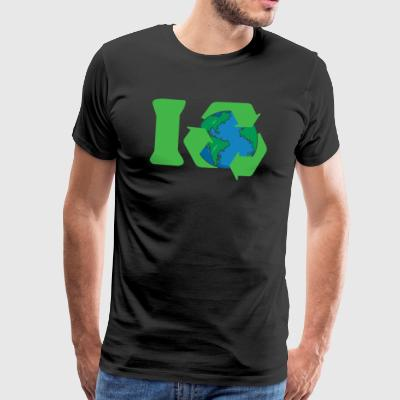 Earth Day I Recycle - Men's Premium T-Shirt