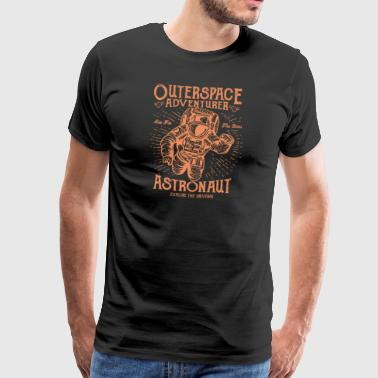 Astronaut. The Space Adventurer! - Men's Premium T-Shirt